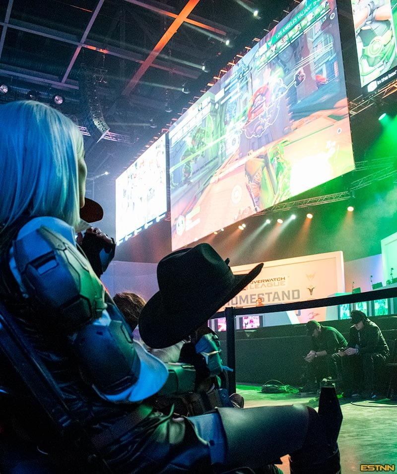 Ashe Overwatch Dallas Homstand