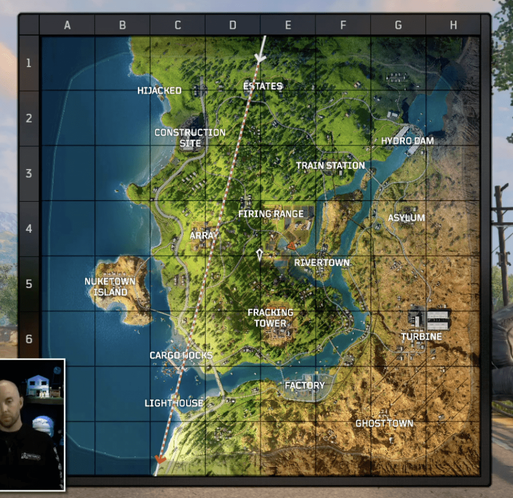CoD Wetworks Map