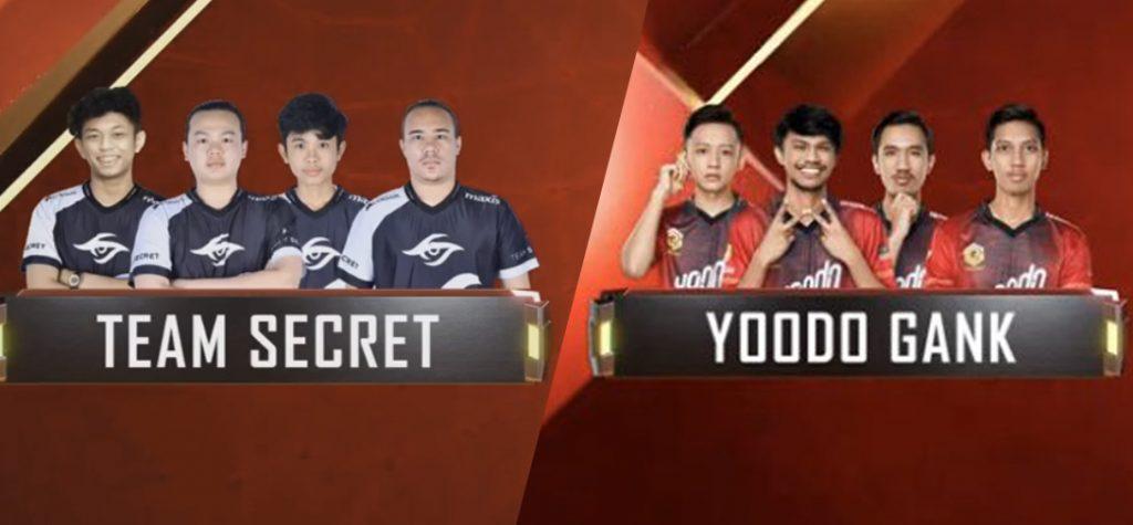 Team Secret MY Yoodo Gank