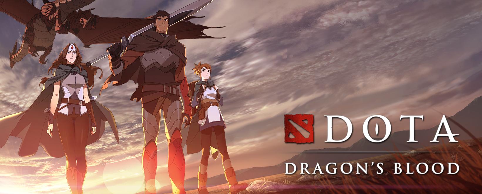 Valve telah bekerjasama dengan Netflix untuk menghasilkan sebuah siri animasi permainan, DOTA 2: Dragon's Blood.