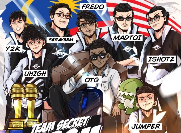 """hmad Fuad """"Fredo"""" Razali dan Mihammad Izzrudin """"Jumper"""" Hashim ialah antara pemain terbaru yang bakal menghiasi Team Secret MY bagi tahun 2021."""