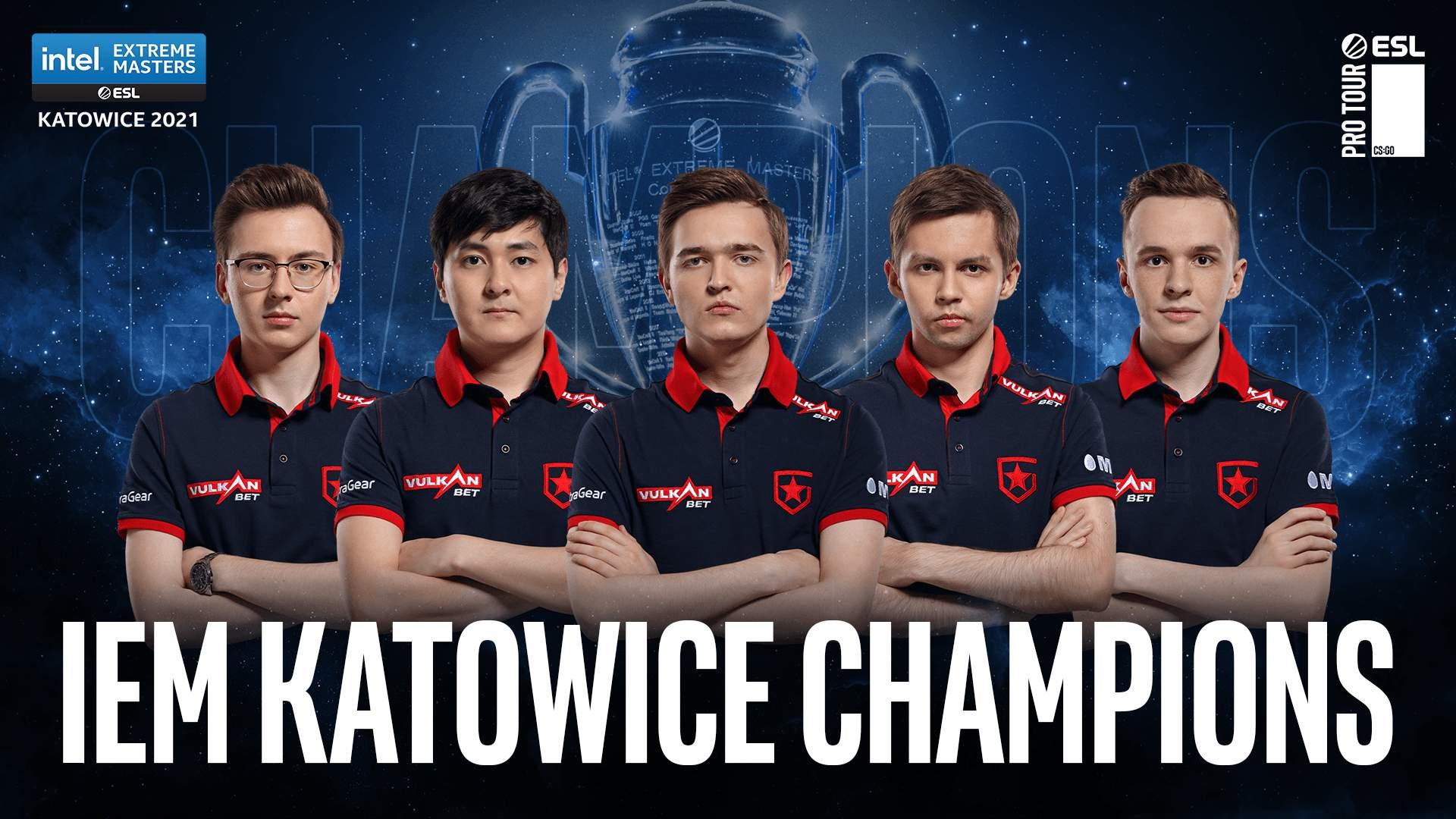Gambit Esports menewaskan Virtus Pro 3-1 di perlawanan akhir IEM Katowice 2021